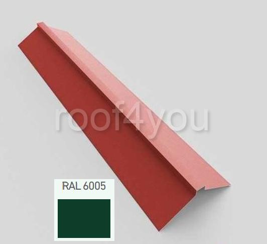 Coamă dreaptă mare CDMA, Lucios WETTERBEST, grosime 0.4 mm, RAL 6005 0