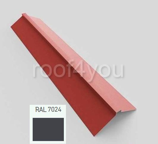 Coamă dreaptă mare CDMA, Lucios WETTERBEST, grosime 0.45 mm, RAL 7024 0