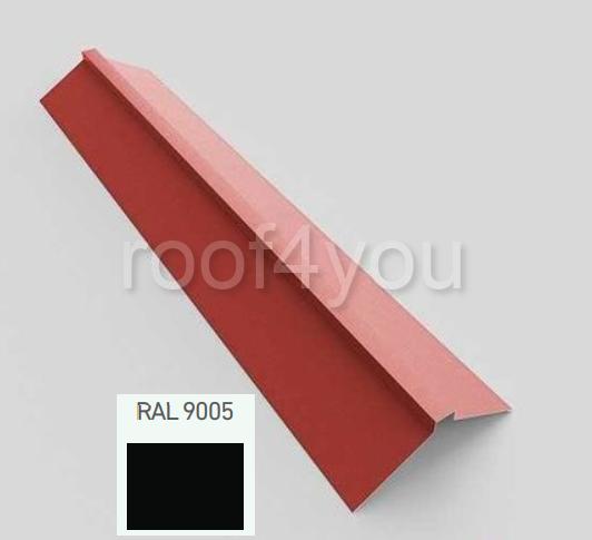 Coamă dreaptă mare CDMA, Mat WETTERBEST, grosime 0.4 mm, RAL 9005 0