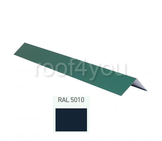 Coamă dreaptă mică CDMI, Lucios WETTERBEST, grosime 0.4 mm, RAL 5010 0