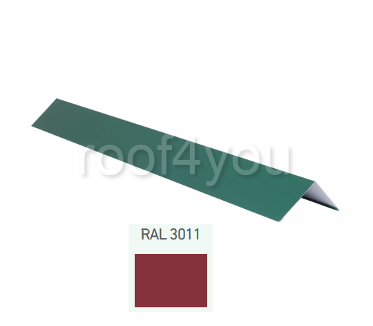 Coamă dreaptă mică CDMI, Lucios WETTERBEST, grosime 0.4 mm, RAL 3011 0