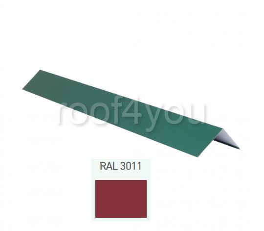 Coamă dreaptă mică CDMI, Lucios WETTERBEST, grosime 0.35 mm, RAL 3011 0