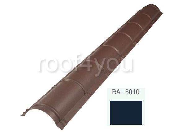 Coamă rotundă mare CRMA, Lucios WETTERBEST, grosime 0.45 mm, RAL 5010 0