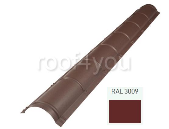 Coamă rotundă mare CRMA, Mat WETTERBEST, grosime 0.5 mm, RAL 3009 0