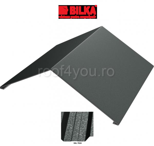 Coama unghiulara industriala BILKA Grande Mat 0,5 mm / 312 mm / RAL 7024 0