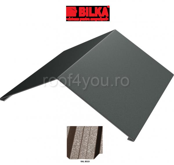 Coama unghiulara industriala BILKA Grande Mat 0,5 mm / 312 mm / RAL 8019 0