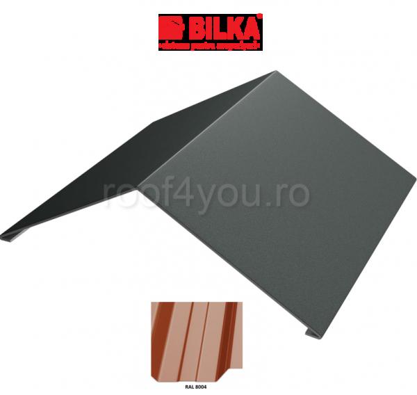 Coama unghiulara industriala BILKA Lucios 0,5 mm / 312 mm / RAL 8004 0