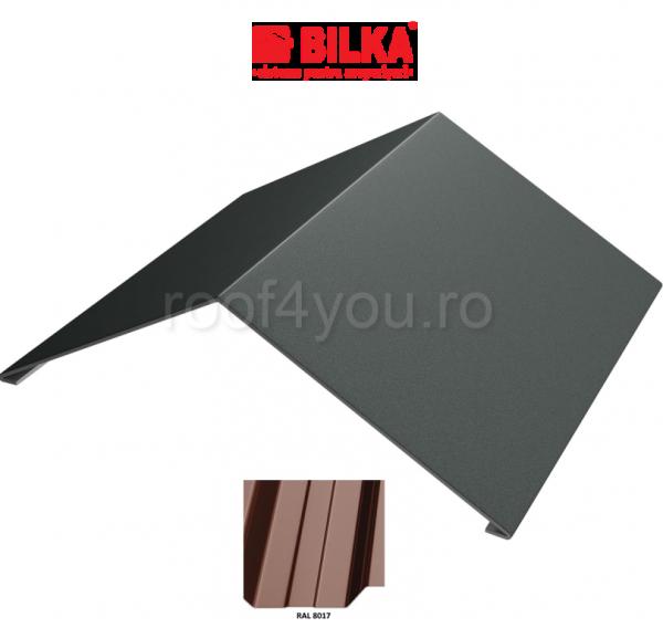 Coama unghiulara industriala BILKA Lucios 0,5 mm / 312 mm / RAL 8017 0