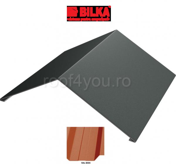 Coama unghiulara industriala BILKA Mat 0,5 mm / 312 mm / RAL 8004 0