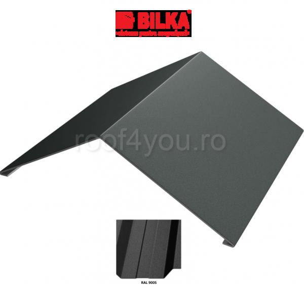 Coama unghiulara industriala BILKA Mat 0,6 mm / 312 mm / RAL 9005 0