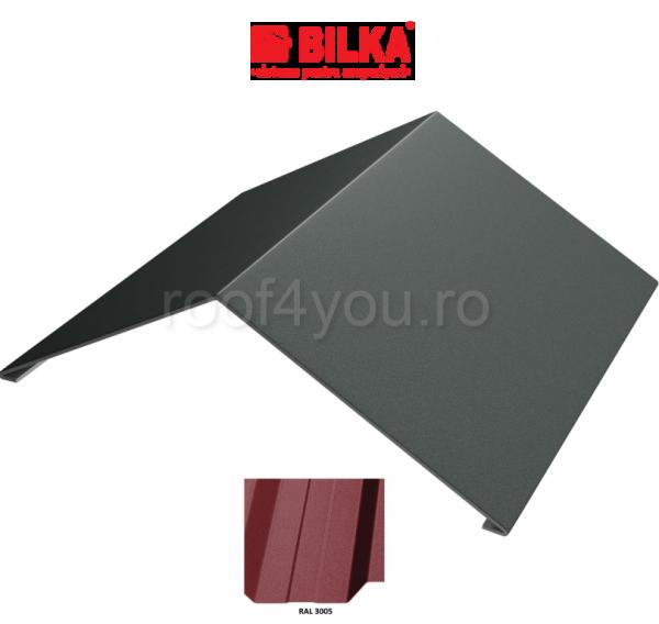 Coama unghiulara industriala BILKA Mat 0,5 mm / 417 mm / RAL 3005 0