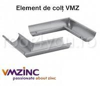 Coltar exterior Ø150 titan zinc natural Vmzinc [0]