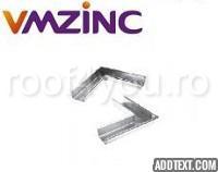 Coltar interior rectangular 333mm titan zinc Quartz Vmzinc 0