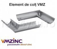 Coltar interior Ø150 titan zinc natural Vmzinc 1