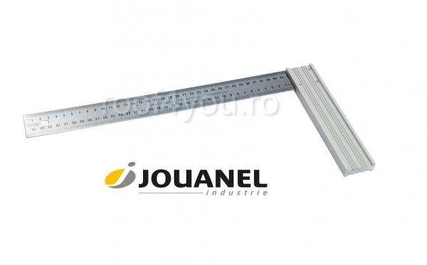 Echer cu talpa din aluminiu, 400 mm, Jouanel 0