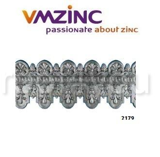 Decor standard VMZINC, inaltime 320 mm, lungime 953 mm, Model 2179 0