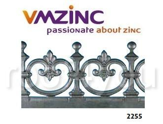Decor standard VMZINC, inaltime 300 mm, lungime 980 mm, Model 2255 0