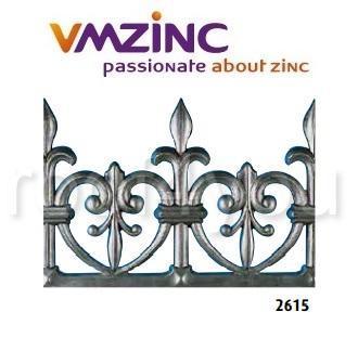 Decor standard VMZINC, inaltime 215 mm, lungime 960 mm, Model 2615 0