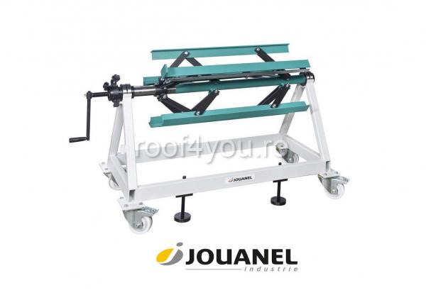 Derulator de tabla, 1250 mm, capacitate 1,0T , Jouanel 0