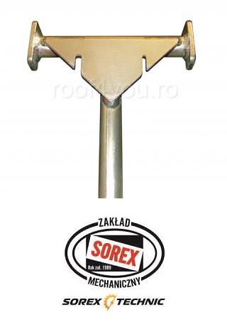 Dispozitiv pentru indepartarea peticelor de tabla Sorex 2