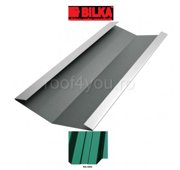 Dolie industriala BILKA Lucios 0,5 mm / 312 mm / RAL 6005 0