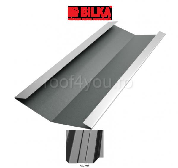 Dolie industriala BILKA Lucios 0,5 mm / 312 mm / RAL 7024 0