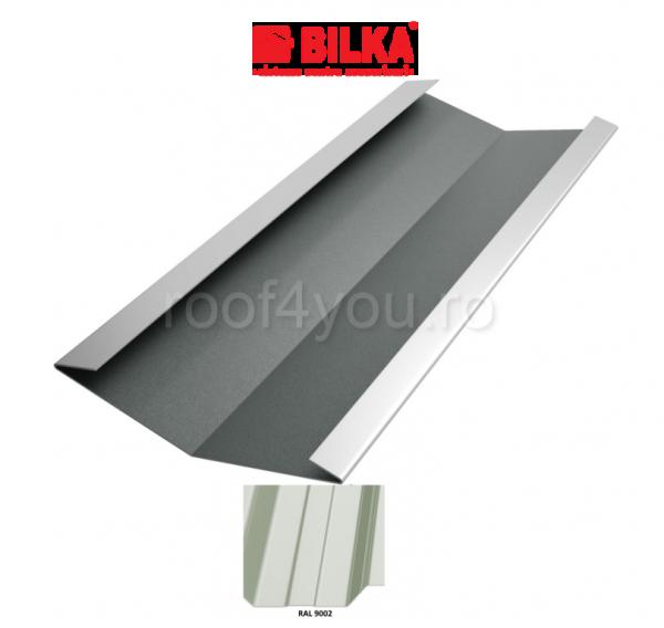 Dolie industriala BILKA Lucios 0,5 mm / 625 mm / RAL 9002 0
