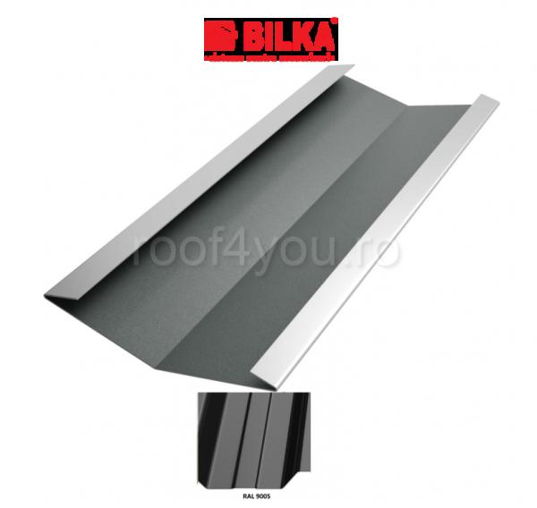 Dolie industriala BILKA Lucios 0,5 mm / 625 mm / RAL 9005 0