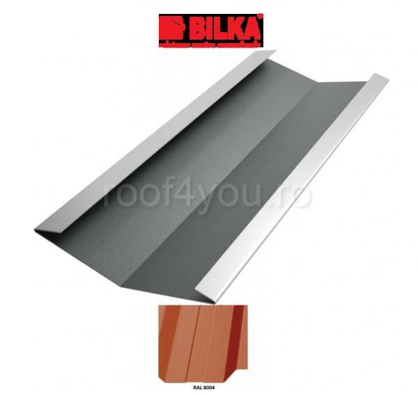 Dolie industriala BILKA Mat 0,5 mm / 312 mm / RAL 8004 0