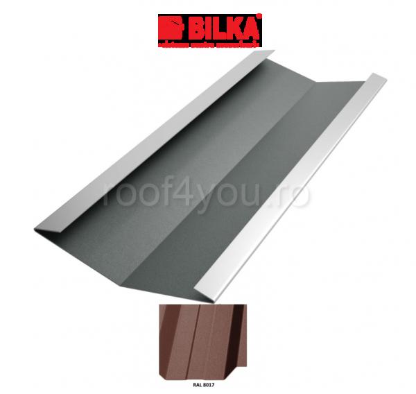 Dolie industriala BILKA Mat 0,6 mm / 312 mm / RAL 8017 0