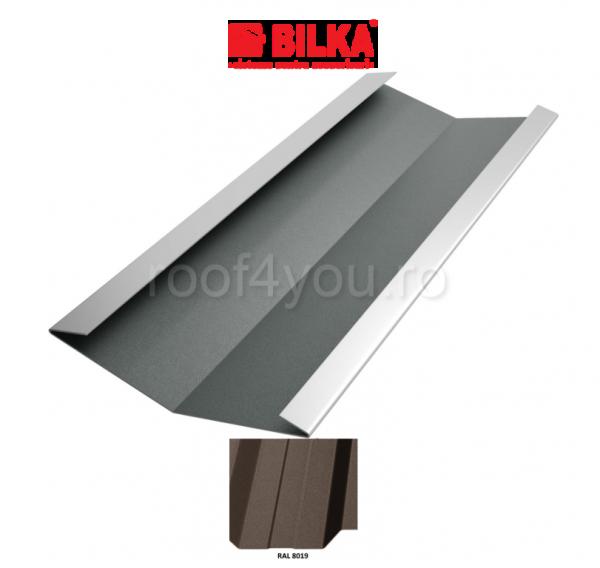 Dolie industriala BILKA Mat 0,6 mm / 625 mm / RAL 8019 0