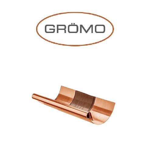 Element dilatare jgheab semicircular 333, Cupru Gromo [0]