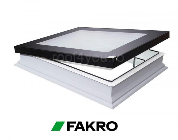 Fereastra cu geam inovator pentru acoperis terasa Fakro  DEF DU6  60/60 0