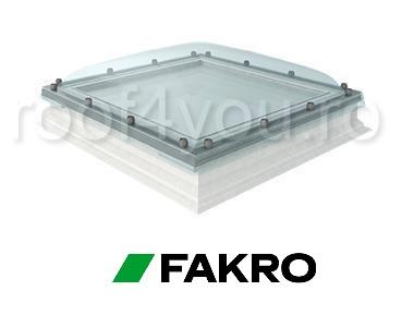 Fereastra de acces pe acoperis terasa Fakro DRC-C P2  90/90 geam cu cupola 0