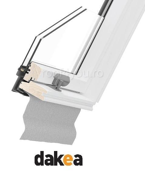 Fereastra de mansarda 55/78 DAKEA KAV1000 Better Safe 3