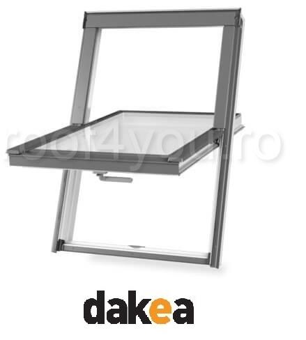Fereastra de mansarda 55/78 DAKEA KPV1000 Better Safe PVC 2