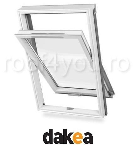 Fereastra de mansarda 55/78 DAKEA KPV1000 Better Safe PVC 0