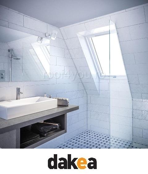 Fereastra de mansarda 55/78 DAKEA KPV1000 Better Safe PVC 3