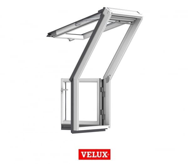 Fereastra de mansarda pentru acces pe terasa Velux GEL-VEA 3065 1