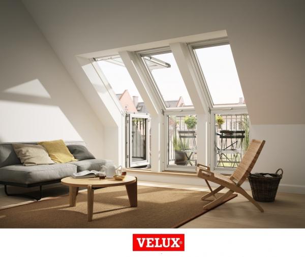 Fereastra de mansarda pentru acces pe terasa Velux GEL-VEA 3065 5