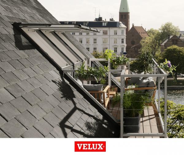 Fereastra de mansarda pentru acces pe terasa Velux GEL-VEA 3065 4