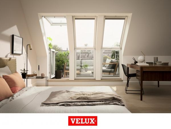 Fereastra de mansarda pentru acces pe terasa Velux GEL-VEA 3065 6