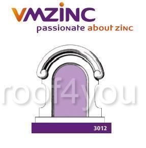 Fereastra lucarna standard VMZINC, golul de fereastra 0.90 x 0.55 m,  inaltime 1.36 m, latime 1.17, Model 3012 0