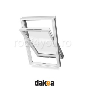 Fereastra de mansarda 55/78 DAKEA KPV900 Good PVC 0
