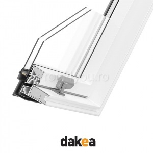 Fereastra de mansarda 55/78 DAKEA KPV900 Good PVC 1