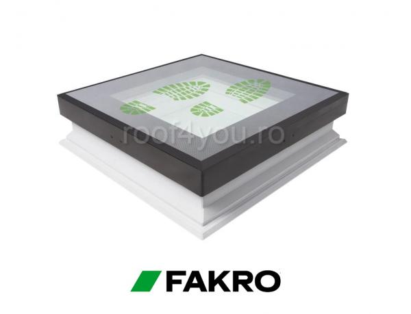 Fereastrele circulabile pentru acoperis terasa Fakro DXW  DW6  60/60 0