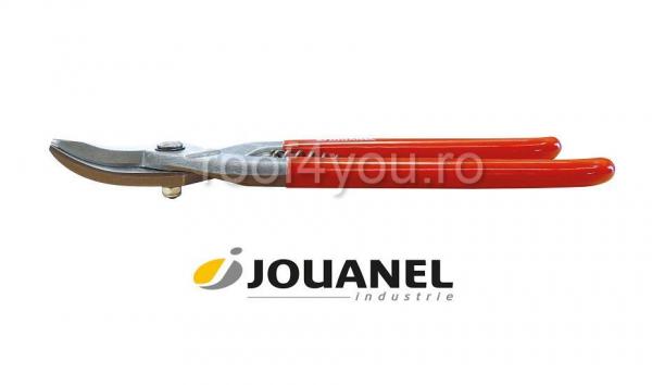 Foarfeca curba pentru decupat, pe stanga, 270 mm, Jouanel 0