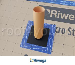 Guler de etansare AIR Stop Universal Riwega, 195 mm 1