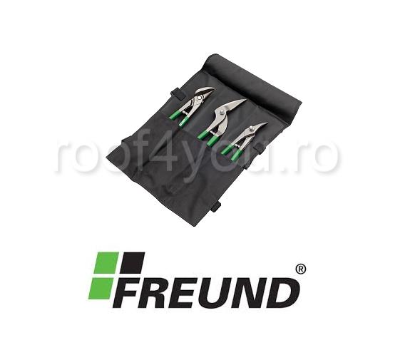 Set foarfeci taiat tabla, diferite unghiuri, Freund 0
