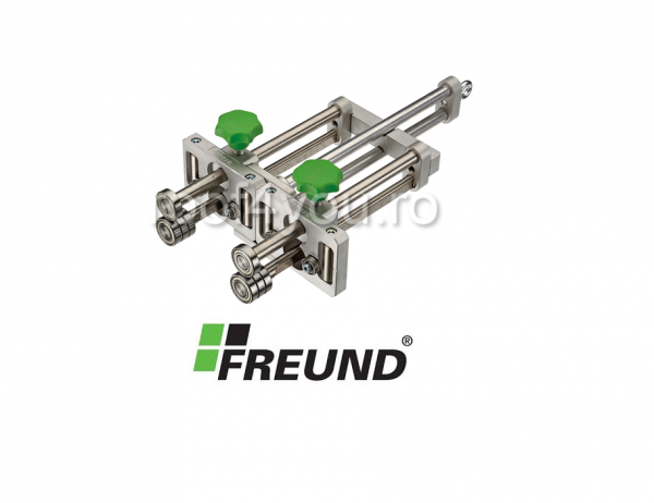 Instrument pentru indoit, Standard Edge Roller double , Freund 0
